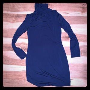 Dresses & Skirts - BOGO FREE - Navy blue Turtle neck dress